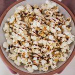 Caramel and Lemon Popcorn