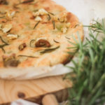 Roast Garlic, Olive and Rosemary Focaccia
