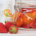 Pickled Strawberries with Orange Blossom Water and Orange Juice