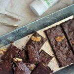 Sugar-free Thyme and Chocolate Brownie