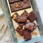 Thyme and Chocolate Brownie with Walnuts