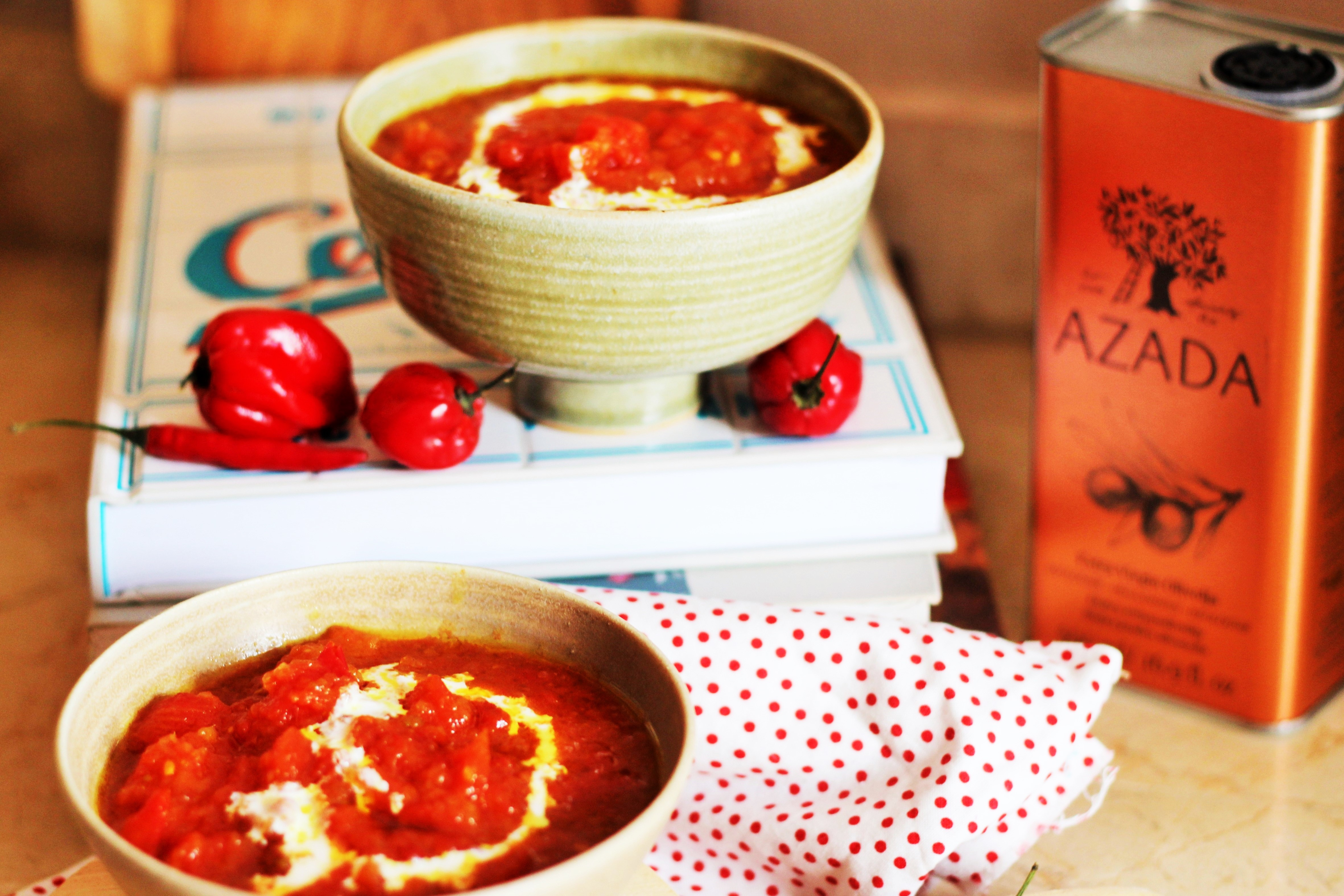 Chunky Spicy Tomato Soup