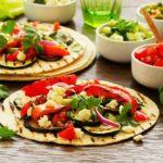 Baked Vegan Tacos with Mole Sauce
